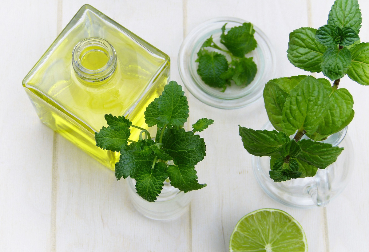 Eco-friendly Formulations and Disinfectants Made of Nano-powders and Liquids From Green Tea and Peppermint Oils