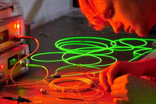 Optical Fibre Sensor: Humidity & Temperature Sensor