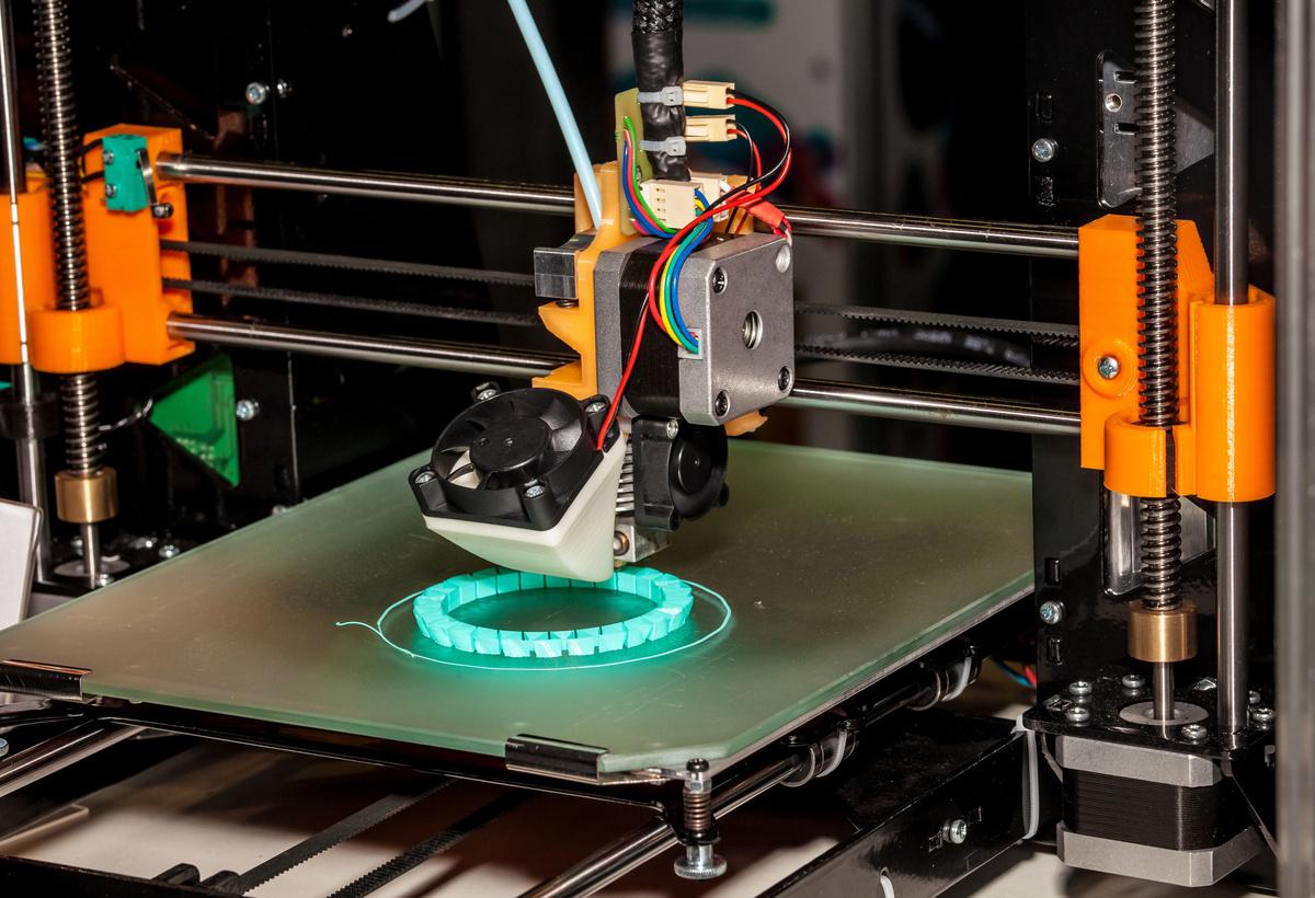 Passive Control of Fiber Orientation for 3D Printing
