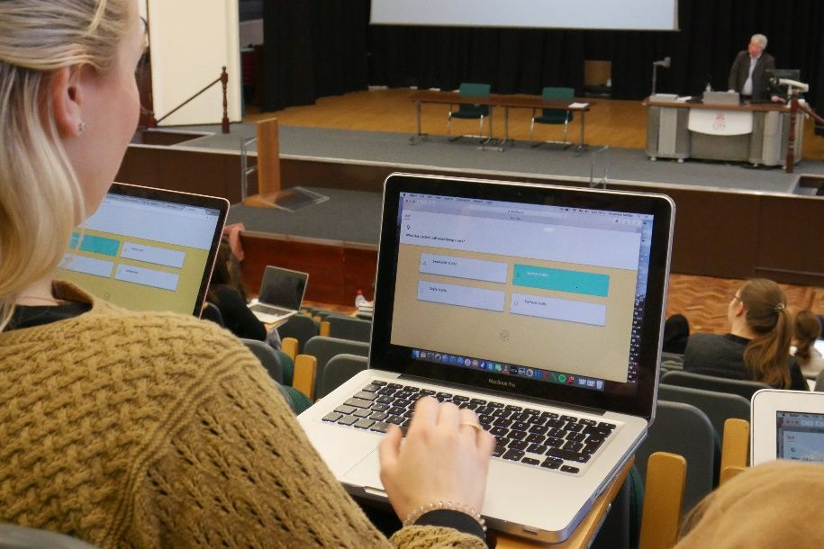 Quodl: Gamified Higher Education Learning Quiz