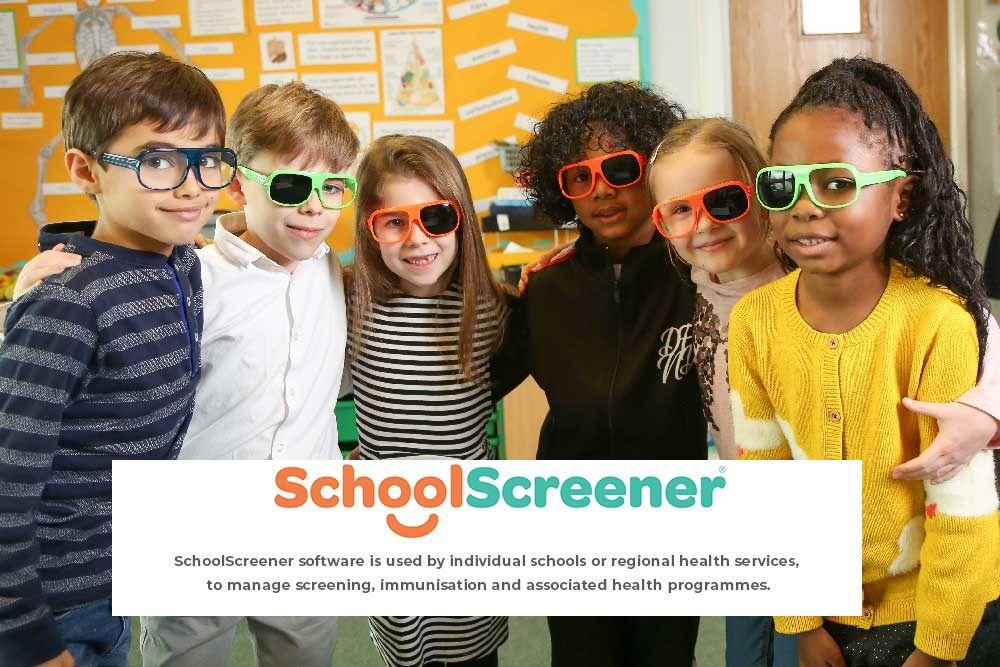 SchoolScreener: Simple Paediatric Vision, Hearing and BMI Screening Platform