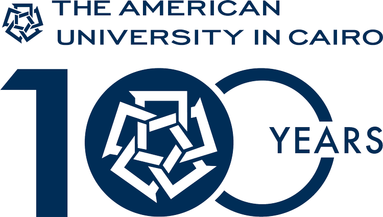 The American University in Cairo logo
